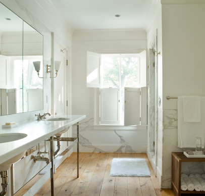 Custom interior wood shutters back bay shutter company - Unfinished interior wood shutters ...